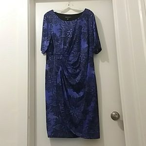 CONNECTED WOMAN purple dress 20W